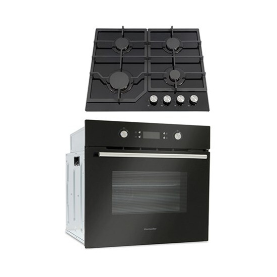 Montpellier SFOP94MFGG Integrated Oven Hob Pack Cooking