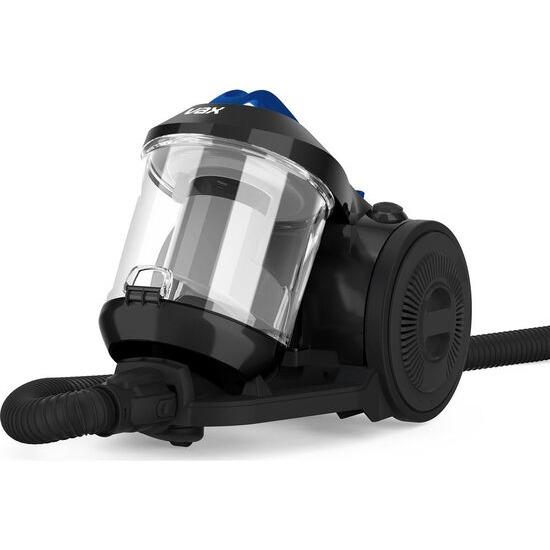 Vax Power Stretch Pet Cylinder Bagless Vacuum Cleaner - Black & Blue