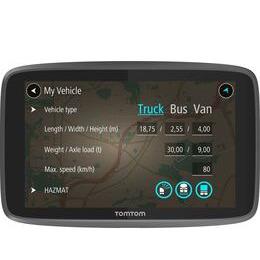 TomTom GO Professional 6200 HGV 6 Sat Nav - Full Europe Maps Reviews