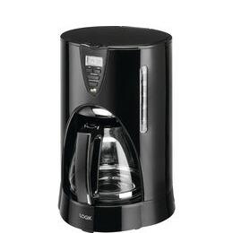 LOGIK LC12DCB17 Filter Coffee Machine - Black Reviews