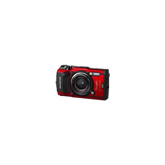 Olympus Tough TG-5 (12MP) Compact Digital Camera - Red