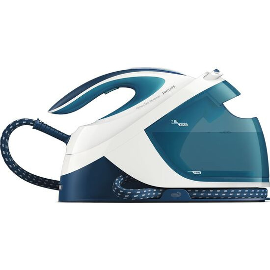 Philips PerfectCare Performer GC8715/20 Steam Generator Iron - Teal & White