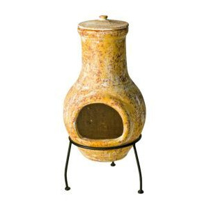 Photo of Clay Chiminea Garden Equipment