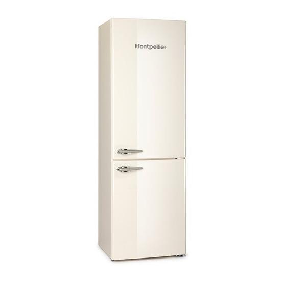 Montpellier MAB385C/K/R Retro Fridge Freezer