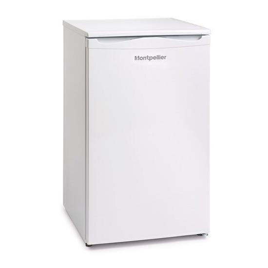 Montpellier MZF48W2 Freestanding Undercounter Freezer