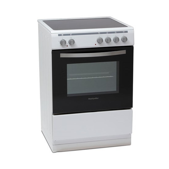 Montpellier MSC60FW Single Cavity 60cm Electric Cooker