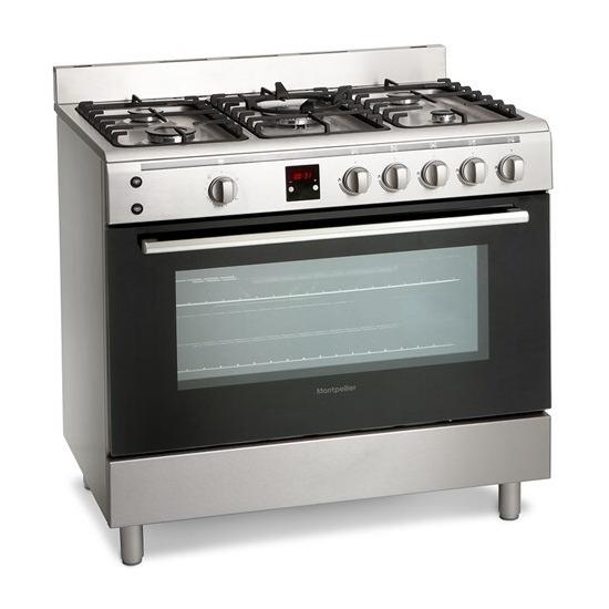 Montpellier MR90GOX Gas Range Cooker