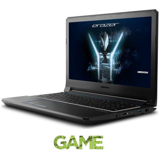 MEDION ERAZER X6603 15.6 Gaming Laptop Black