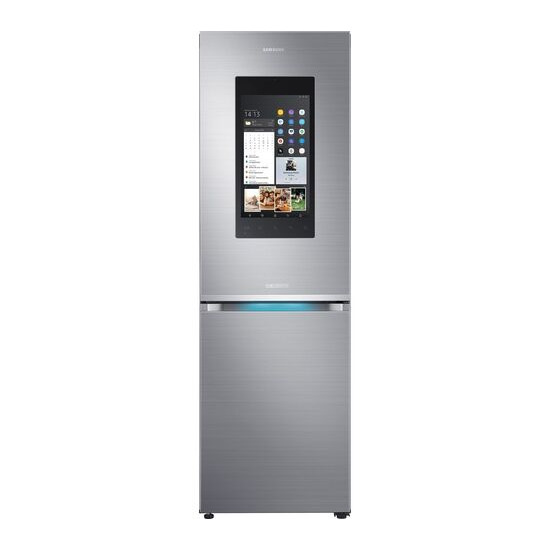 Samsung Family Hub RB38M7998S4/EU Smart 63/37 Fridge Freezer - Real Stainless