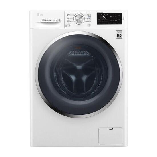LG F4J6AM2W NFC 8 kg Washer Dryer