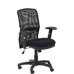 ALPHASON Dakota Tilting Operator Chair - Black