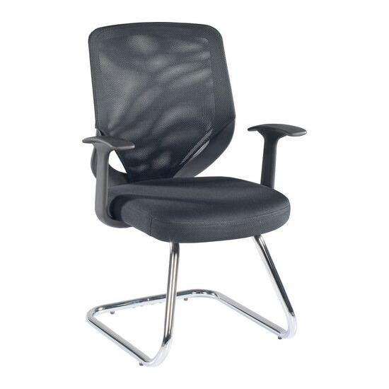 Alphason Atlanta Visitor Chair - Black