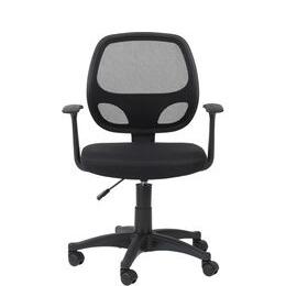 ALPHASON Davis Mesh Operator Chair - Black