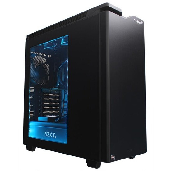 Cube Maximus X VR Ready Watercooled O.C. Gaming PC AMD Ryzen 7 Eight Core Add your own Graphics Card