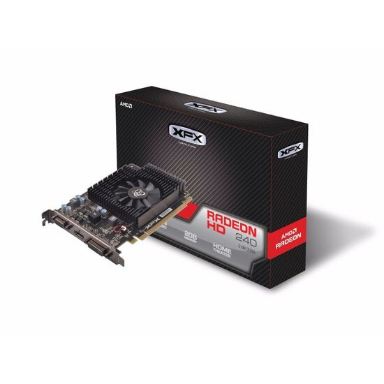 XFX R7-240A-2TS2 2GB DDR3 Graphics Card