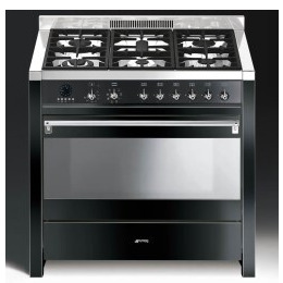 SMEG A1BL 9 A1BL 7 Opera 90cm Dual Fuel Range Cooker Reviews