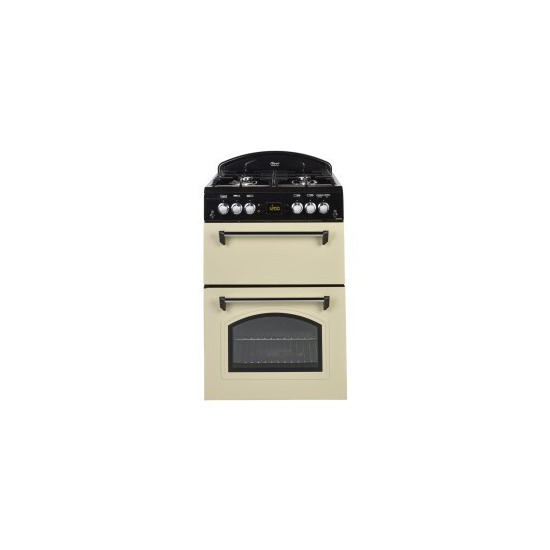 Leisure CLA60GAC 60 cm Gas Cooker - Cream & Black