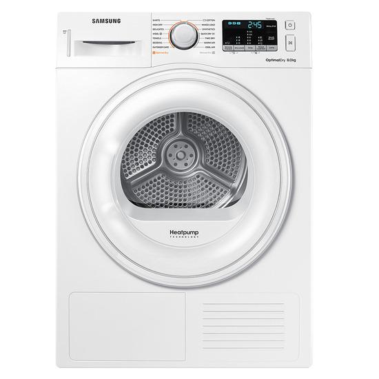 Samsung DV80M50101W 8kg Heat Pump Freestanding Tumble Dryer
