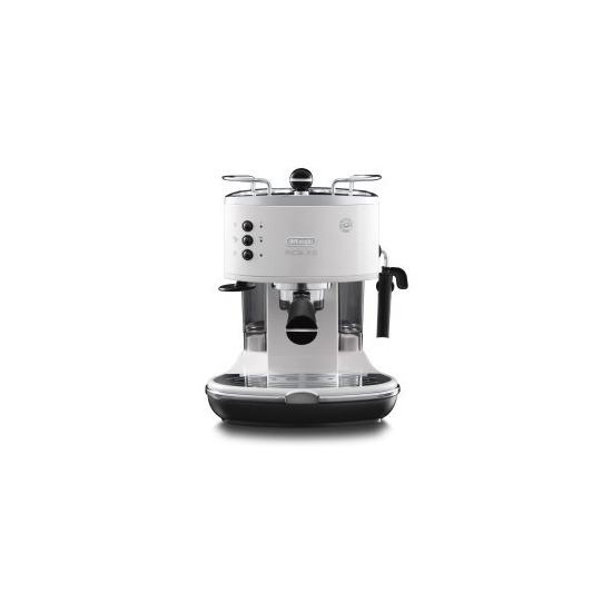 De Longhi ECOM311.W Icona Micalite Espresso Coffee Machine White