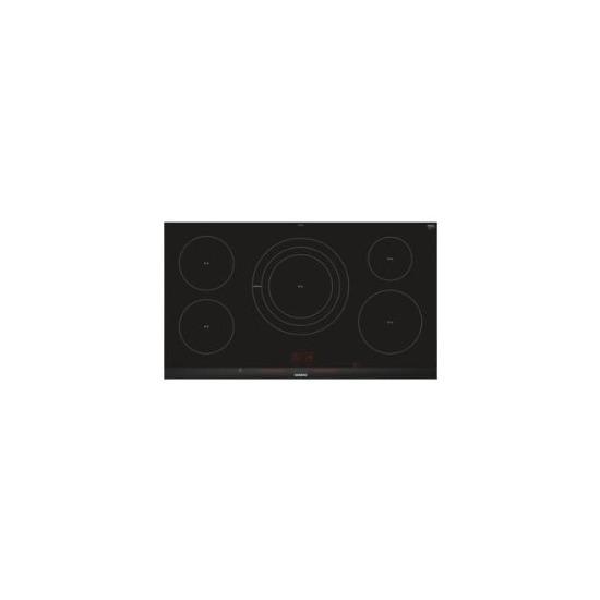 Siemens EH975LVC1E iQ300 Stainless Steel Side Trim Bevelled Frront Edge 912 mm Induction Hob - Black