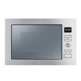 SMEG FMI025X Stainless Steel Built Microwave Oven with Grill complete with Frame 25 Litres Reviews