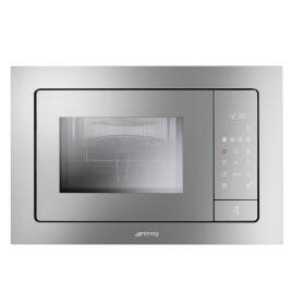 SMEG FMI325X Classic Built-in Microwave Oven With Grill Stainless Steel Reviews