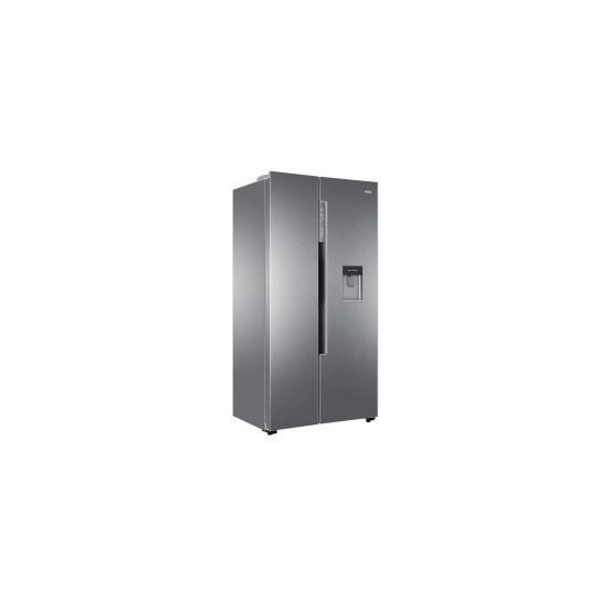 Haier HRF-522IG6 American Fridge Freezer With Water Dispenser - Silver