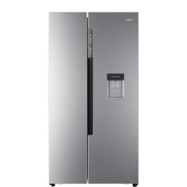 Haier HRF-522WS6 Side-by-side American Fridge Freezer With Non-Plumbed Water Dispenser - Silver Reviews