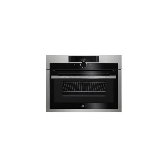 AEG KME861000M CombiQuick Built Combination Microwave Oven Stainless Steel
