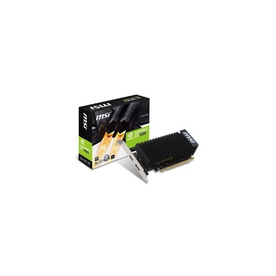 MSI Passive 2GH GeForce GT 1030 2GB GDDR5 OC Graphics Card