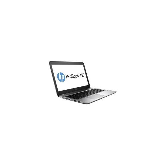 HP ProBook 455 G4 A10-9600P 4GB 500GB 15.6 Inch DVD-SM Windows 10 Pro Laptop
