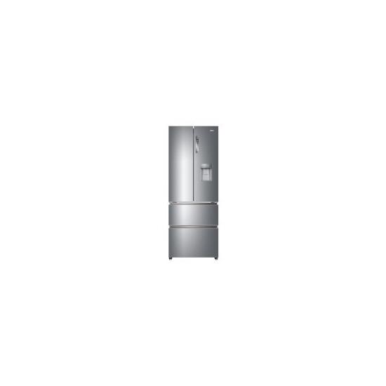 Haier HB16WMAA Multidoor American Fridge Freezer With Non Plumbed Water Dispenser - Inox Look