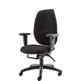 ALPHASON Trinity AOC2331HBSYA-BK Fabric Tilting Executive Chair - Black