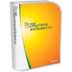 Photo of Microsoft Office Home and Student 2007 Software
