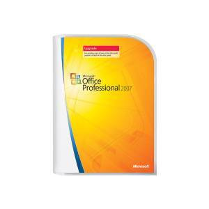 Photo of MICROSOFT OFFICE PROFESSIONAL 2007 UPGRADE Software
