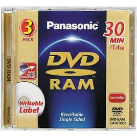 Panasonic 2PK 8CM DVD Ram Reviews