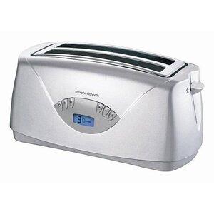 Photo of Morphy Richards 44082 Opera 4 Slice Silver Toaster Toaster