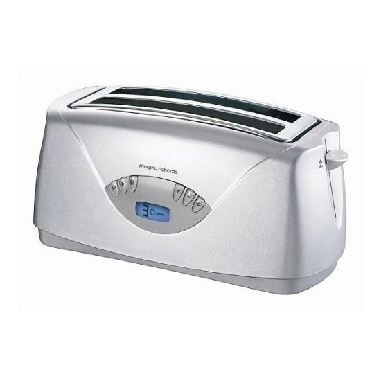 Morphy Richards 44082 Opera 4 Slice Silver Toaster