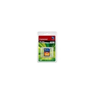 Photo of Transcend SD Memory Card - 1GB Memory Card