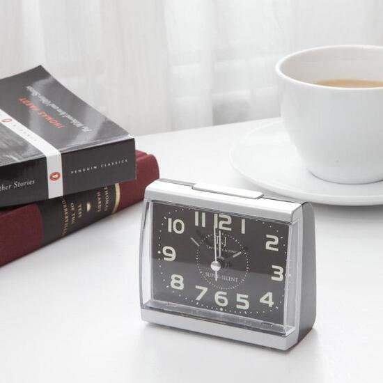 Silent Night Glow Alarm Clock