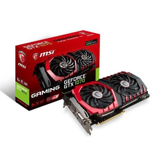 MSI NVIDIA GTX 1070 GAMING 8G Graphics Card