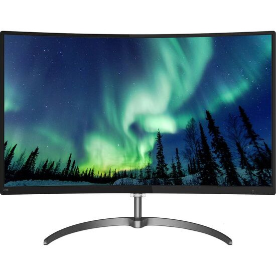 Philips 328E8QJAB5 Full HD 31.5 Curved IPS LED Monitor - Black