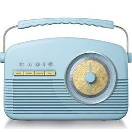 AKAI A60010BLDABBT Portable DAB+/FM Retro Bluetooth Radio - Blue Reviews