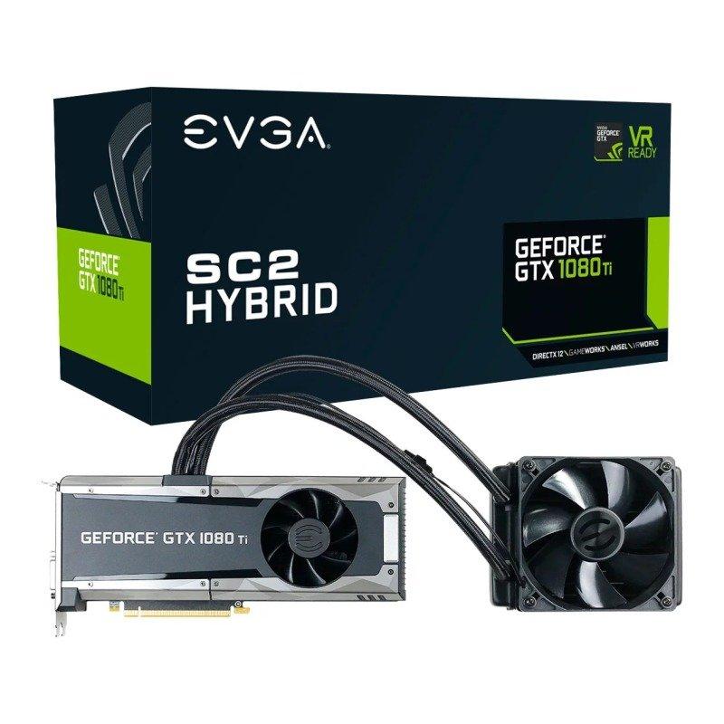 Evga Nvidia Gtx 1080 Ti 11gb Sc2 Hybrid Aio Graphics Card Reviews