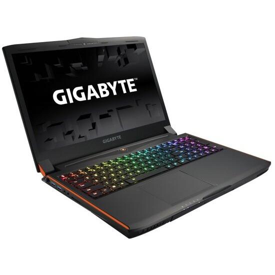 Gigabyte P56XT-CF1 Gaming Laptop Intel Core i7-7700HQ 2.8GHz 16GB RAM 1TB HDD 256GB SSD 15.6 UHD 3840 x 2160 Blu-Ray RW NVIDIA GTX 1070 8GB WIFI Bluetooth Webcam Windows 10 Home