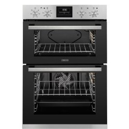 Zanussi ZOD35660XK Electric Double Oven - Black & Stainless Steel Reviews
