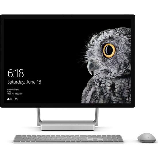"Microsoft Surface Studio 28"" Intel Core i7 All-in-One PC - 2 TB HDD & 128 GB SSD, Silver"
