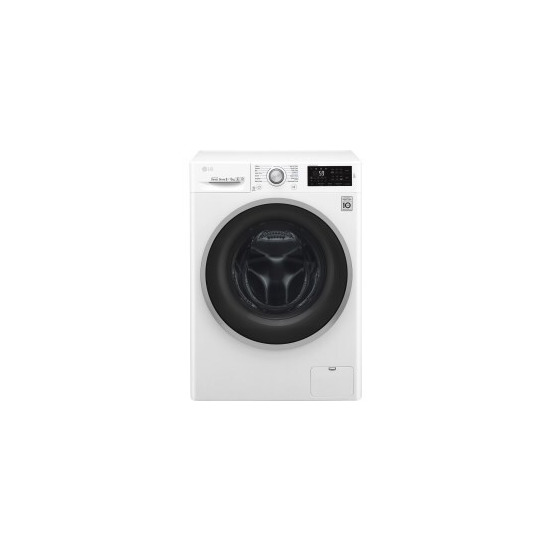LG F4J6TM1W 8kg Wash 5kg Dry Freestanding Direct Drive Washer Dryer With SmartThinq ConnectivityW