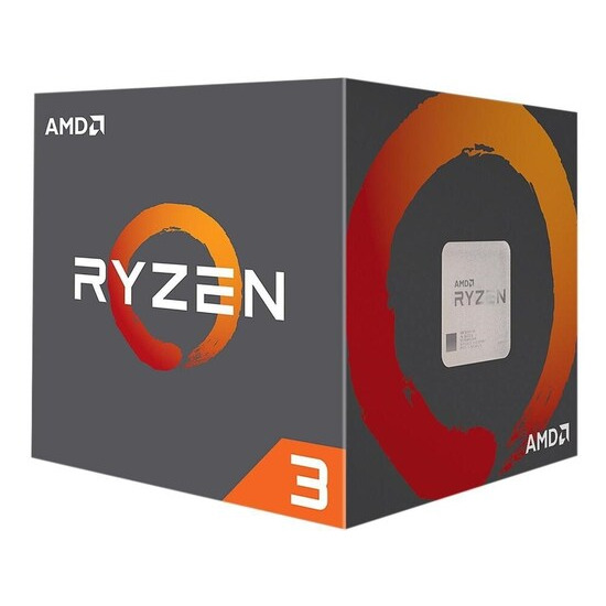AMD Ryzen 3 1200 Quad-Core Processor with Wraith Stealth Cooler