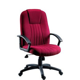 Teknik City Nylon Reclining Executive Chair - Burgundy